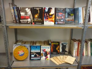 Themenbücherregal zum Thema Filme