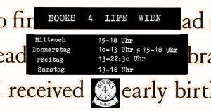 Öffnungszeiten Books4Life Wien