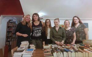 Unser Team beim Abverkauf: Marion, Jette, Nina, Ellen, Petra, Mareike und Esma (nicht im Bild).