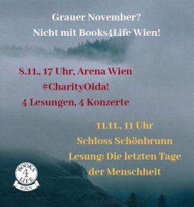 Tolle November-Events bei Books4Life Wien