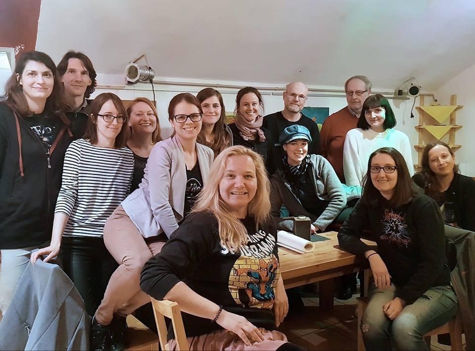 Das Team von Books4Life Wien bei der Generalversammlung 2019